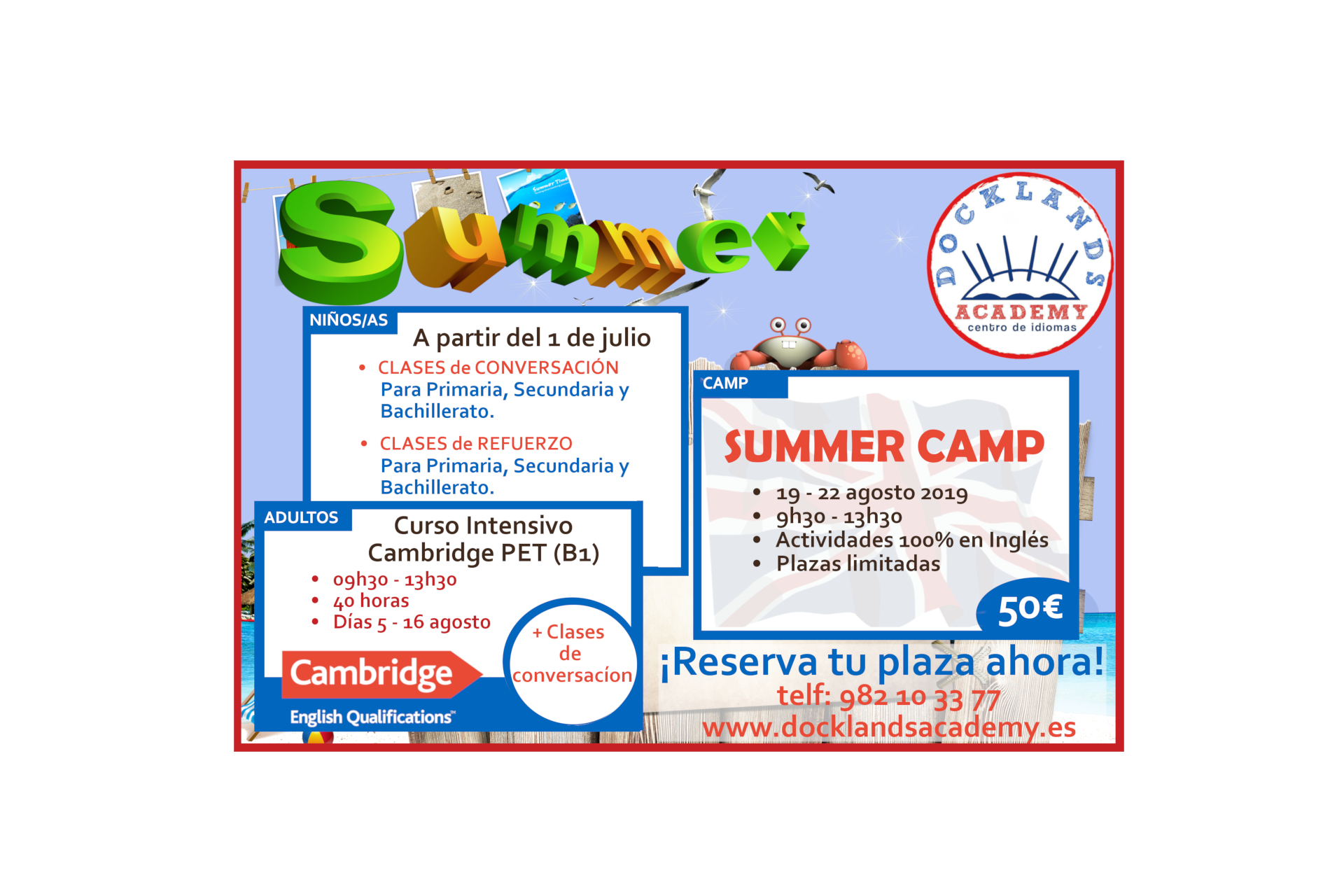 Summer English Course 2019